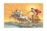 Apollo with Chariot Giclee Print by Found Image Press