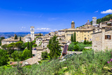 Assisi - Medieval Historic Town in Umbria, Italy Photographic Print by  Maugli-l