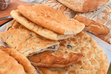 Traditional Italian Focaccia Photographic Print by  ermess