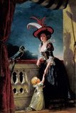 Portrait of Louise-Elisabeth of France with Her Son Ferdinand Photographic Print by Adelaide Labille-Guiard