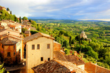 Tuscan Town at Sunset Photographic Print by Jeni Foto