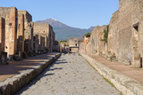 Street of Pompeii Photographic Print by  JIPEN