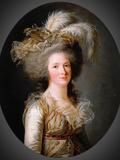 Elisabeth Philippine Marie Helene De Bourbon Photographic Print by Adelaide Labille-Guiard