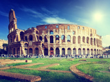 Colosseum in Rome, Italy Photographic Print by Iakov Kalinin