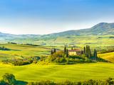 sborisov - Beautiful Landscape in Tuscany, Italy Fotografická reprodukce