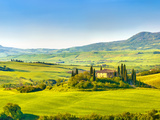 Beautiful Landscape in Tuscany, Italy Photographic Print by  sborisov