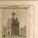 Cathedral in the Moscow Kremlin (Illustration from Travels to the Great Duke of Muscovy and the Kin Photographic Print