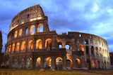 Colosseum at Twilight Photographic Print by  mary416