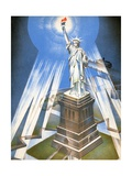 Statue of Liberty Giclee Print