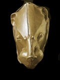 Mycenaean Art : Gold Lion's Head Rhyton Photographic Print