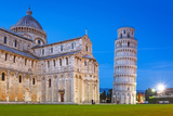 Pisa, Italy. Catherdral and the Leaning Tower of Pisa at Piazza Dei Miracoli. Photographic Print by Patryk Kosmider
