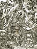 Ramon Llull (1235-1316). Engraving. Photographic Print by  Tarker
