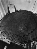 Fermi's Atomic Pile under Construction Photographic Print