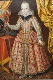 Painting of Charles I as a Child,Bristol Museum and Art Gallery,Bristol Fotodruck von Steven Vidler