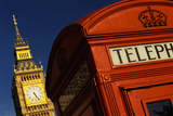Big Ben and Telephone Booth Photographic Print by Jon Hicks