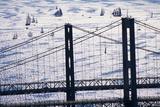 Span of the Chesapeake Bay Bridge Photographic Print by Paul Souders