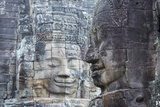 Bayon Temple,Angkor Wat, Siem Reap, Cambodia Photographic Print by Paul Souders