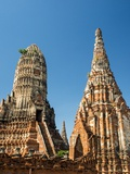 Phra Nakhon Si Ayutthaya Old Siam Tempel Photographic Print by Terry Eggers