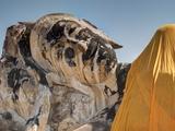 Wat Lokaya Suttha in Ayutthaya Reclining Buddha Photographic Print by Terry Eggers