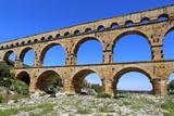 Roman Aqueduct Pont Du Gard Photographic Print by  photosimysia