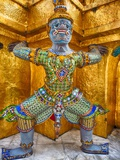 Yaksha at Wat Phra Kaeo the Grand Palace Photographic Print by Terry Eggers