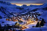 Saint-Jean D'arves, Alps, France Photographic Print by vent du sud