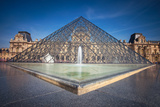 The Louvre Pyramid Photographic Print by  gornostaj
