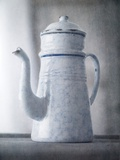 A French Enamel Coffee Pot Photographic Print by Steve Lupton