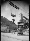 Hoover Dam Construction Photographic Print by Dick Whittington Studio