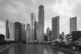 Singapore Skyline Photographic Print by Paul Souders