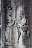Stone Carvings at Angkor Wat, Cambodia Photographic Print by Paul Souders