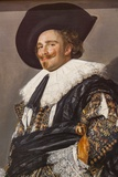 Painting Titled the Laughing Cavalier ,The Wallace Collection Museum Photographic Print by Steven Vidler
