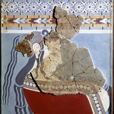 Mycenaean Art : Bust of a Woman Photographic Print