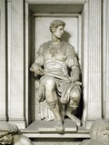 The Tomb of Giuliano De Medici, by Michelangelo Photographic Print