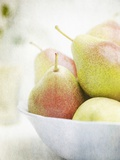 Pears in a Bowl Still Life Photographic Print by Steve Lupton