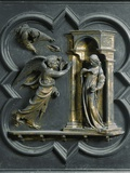 The Annunciation, by Lorenzo Ghiberti Photographic Print