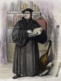 German Reformer Martin Luther Photographic Print by Stefano Bianchetti