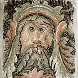 Roman Art: Sea Divinity Photographic Print