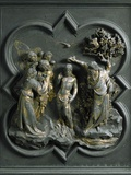 The Baptism of Christ, by Lorenzo Ghiberti Photographic Print