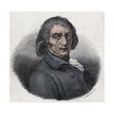 Italian Poet Giuseppe Parini Giclee Print by Stefano Bianchetti