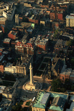 Aerial View of Downtown Baltimore Photographic Print by Paul Souders