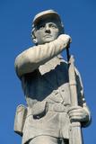 Civil War Memorial at Battlefield Photographic Print by Paul Souders