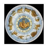 Astrological Sign Giclee Print by Stefano Bianchetti