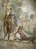 Roman Art : Hercules Saving Deianira Raped by the Centaur Nessus Photographic Print