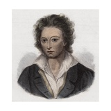 English Poet Percy Bysshe Shelley Giclee Print by Stefano Bianchetti