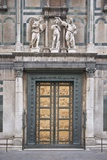Le Porte Del Paradiso, East Side of Baptistery, by Lorenzo Ghiberti Photographic Print by Guido Cozzi