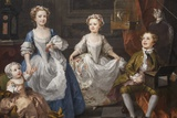 Painting of the Graham Children,The National Gallery,Trafalgar Square Photographic Print by Steven Vidler