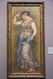 Painting Titled Dancing Girl with Castanets ,The National Gallery,Trafalgar Square Photographic Print by Steven Vidler
