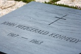 John F Kennedy's Grave in Arlington National Cemetery. Photographic Print by Jon Hicks