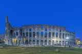 Twilight Colosseum Photographic Print by Rob Tilley